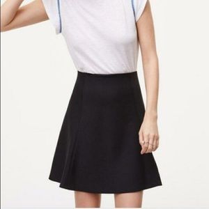 Ann Taylor loft black skirt size medium